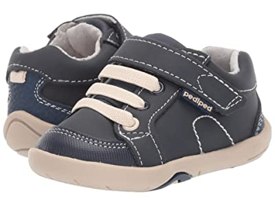 pediped Dani Grip n Go (Toddler) (Navy Nubuck) Boy