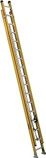 DeWalt DXL3420-28PG 28-Foot Fiberglass Extension Ladder Type IAA with 375-Pound Duty Rating