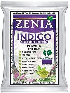 Zenia Indigo Powder (Indigofera Tinctoria) Hair / Beard Dye Color 500 grams