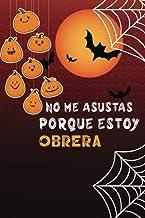 No me asustas porque soy Cocinera: Cuaderno de halloween: Divertida idea de regalo de Halloween para cumpleaños   regalo d...