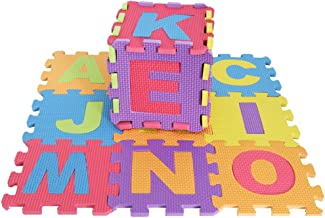 HOMYL KIDS 36PC COLOURFUL FOAM ALPHABET SOFT JIGSAW PUZZLE PLAY LEARNING MAT NUMBERS
