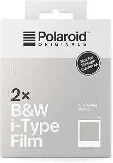 Polaroid Originals Film i-Type S & W dubbelpaket – vit ram
