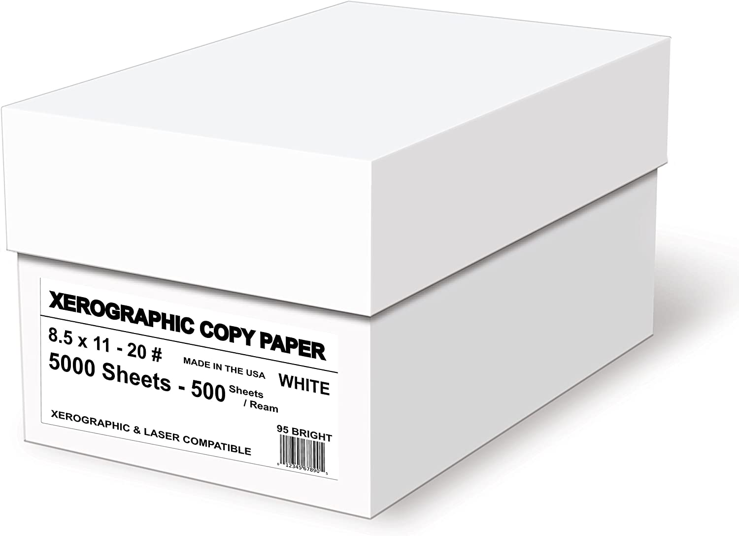 8 1//2in x 11in. Ream Of 500 Sheets Multipurpose Colored Copy Paper Goldenrod 20 Lb.