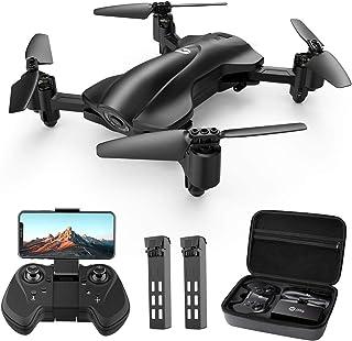 Holy Stone Faltbare GPS Drohne HS165 mit 2K Kamera HD Live Übertragung für Anfänger,RC..
