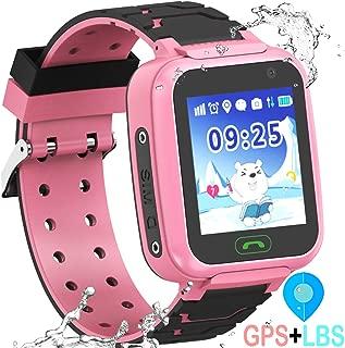 YENISEY Kids Waterproof GPS Smartwatches Phone - WiFi GPS LBS Tracker Locator 1.4