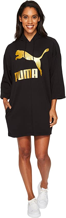 PUMA - Glam Oversized Hooded Dress
