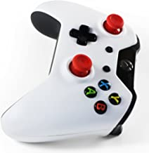 Xbox One Controller + Play & Charge Kit: TekBotic Customized Signature White & Black Two-Tone Bundle Wireless (18-Month Warranty)