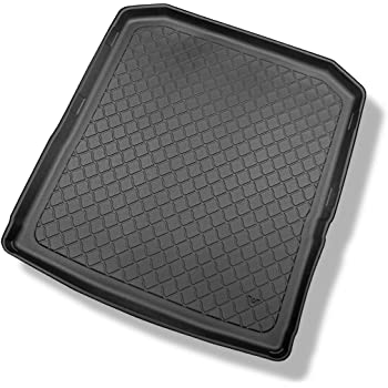 with Variable Loading Floor Estate Wagon Typ 3V Element EXP.ELEMENT008841 Tailored Custom Fit Rubber Boot Liner Protector Mat-Skoda Superb B8 Black 2015 deep and Increased Area