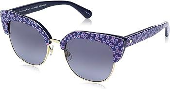 Kate Spade KARRIS 0VDN 53 Azure Square Sunglasses