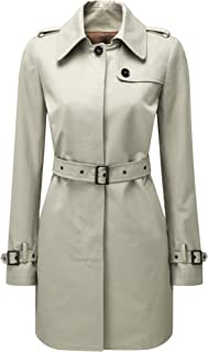 Womens Windsor Trench Coat Stone