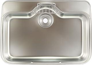 【日本製】Eキッチン SHシリーズ ステンレスシンク(アンダーマウント) GB-DK SUS排水一体(786X452)
