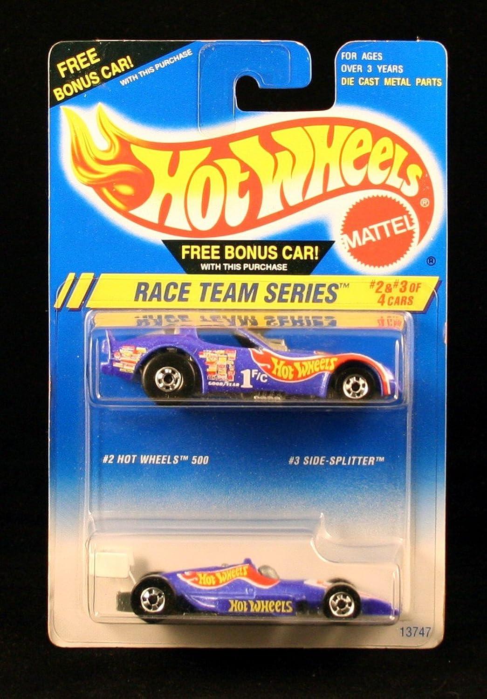 HOT WHEELS 500 ( 2 of 4) & SIDE-SPLITTER ( 3 of 4)  RACE TEAM SERIES  HOT WHEELS 1994 Basic Car Series  BONUS 2-PACK  by Hot Wheels B0053TOY3W Niedriger Preis       Verrückter Preis