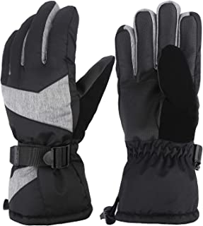 Mysuntown Winter Gloves for Men and Women Ski Gloves Waterproof Warm Snow Gloves Outdoor Snowboarding Snowmobile