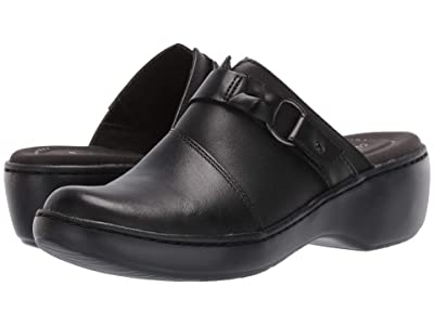 Clarks Delana Misty (Black Leather) Women