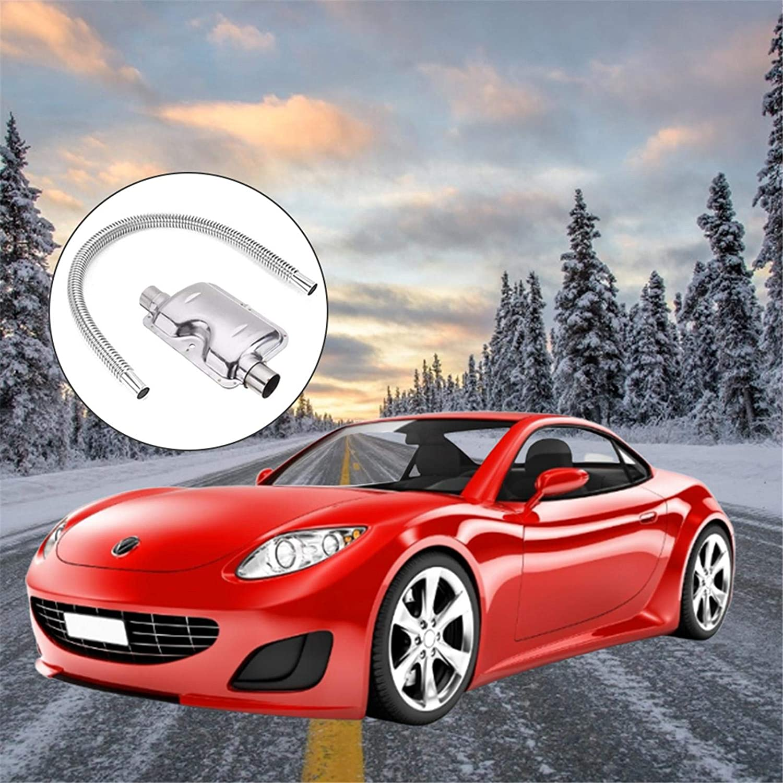 Stainless Steel Exhaust Silencer Car Heater Accessories Pipe Silencer Heater Kit 120cm Exhaust Muffler Silencer
