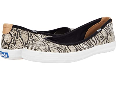 Keds Bryn Seasonal Solids (Cream/Black) Women