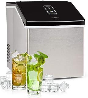Klarstein Clearcube machine à glaçons - produit de la glace, capacité de production : 13kg/24h, réfrigérant: R600a, pannea...