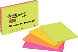 "Post-it /""Super Sticky Notes Promotion/"" selbstklebende Haftnotizzettel in 76 x 76"