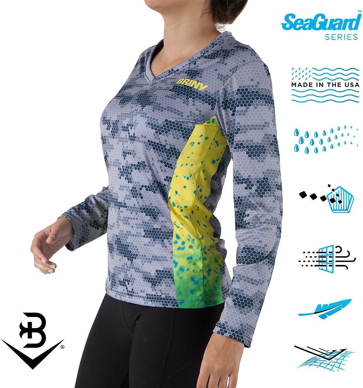 BRINY Ladies Performance Fishing Long Sleeve Shirts