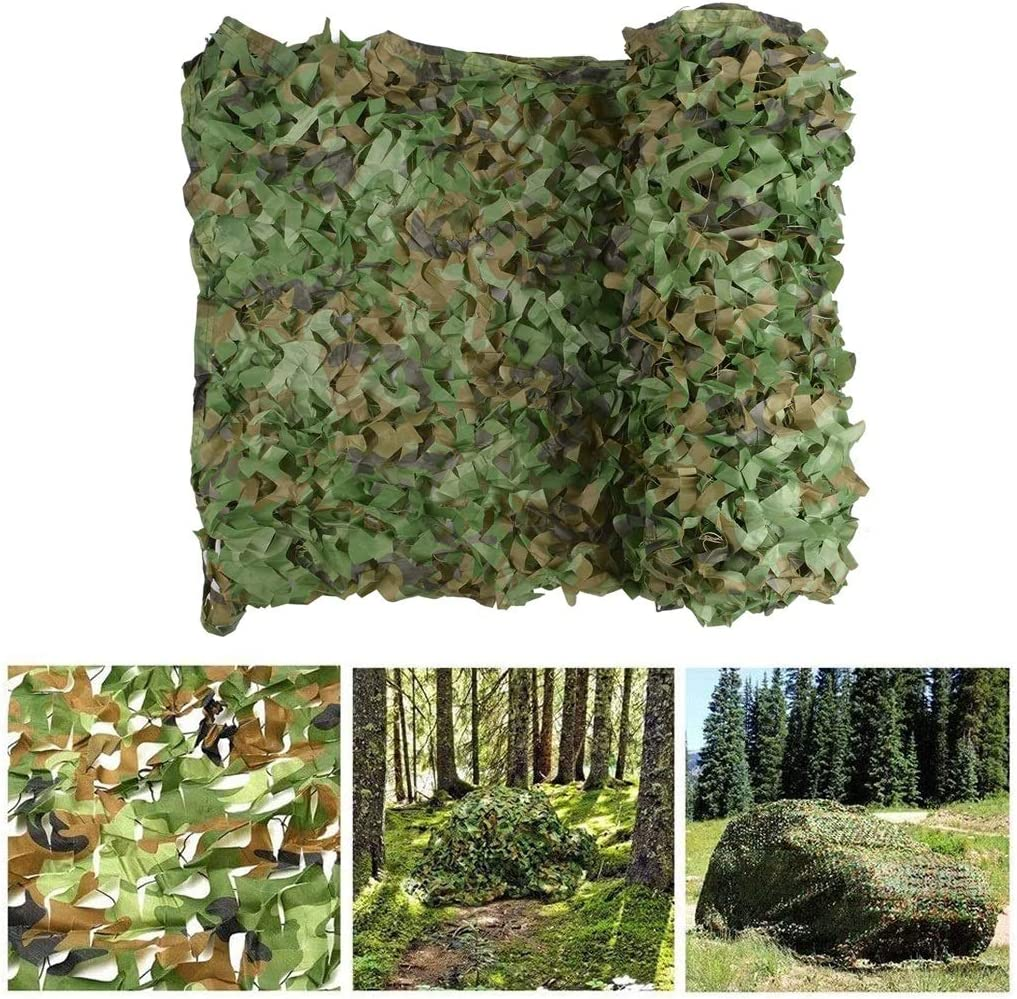 Camo Netting Bulk Roll Camouflage Net with Omaha Mall Grid Camouf Military At the price of surprise