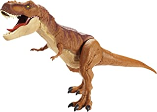 Jurassic World Super Colossal Tyrannosaurus Rex Approx. 3 Feet Long with Realistic Detail & Texture, Can Swallow Up to 20 ...
