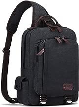 S-ZONE Sling Bag Men Chest Shoulder Backpack Sack Satchel Outdoor Crossbody Pack