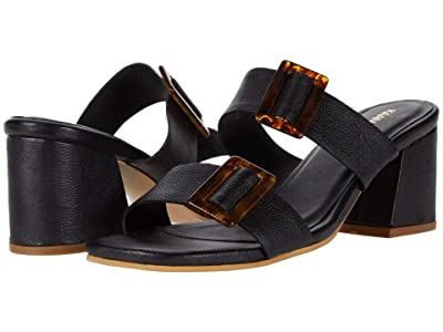 KAANAS Syros Double-Band Heel with Buckle (Black) Women