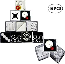 (Easy) - Fidget Puzzle Box,DOCA 10 PCS Puzzle Boxes Decompression Game Boxes Brain Teaser Puzzle Box Mini Brain Teaser Puzzles Hand Toys for Intelligence Development Stress Relief and Relax
