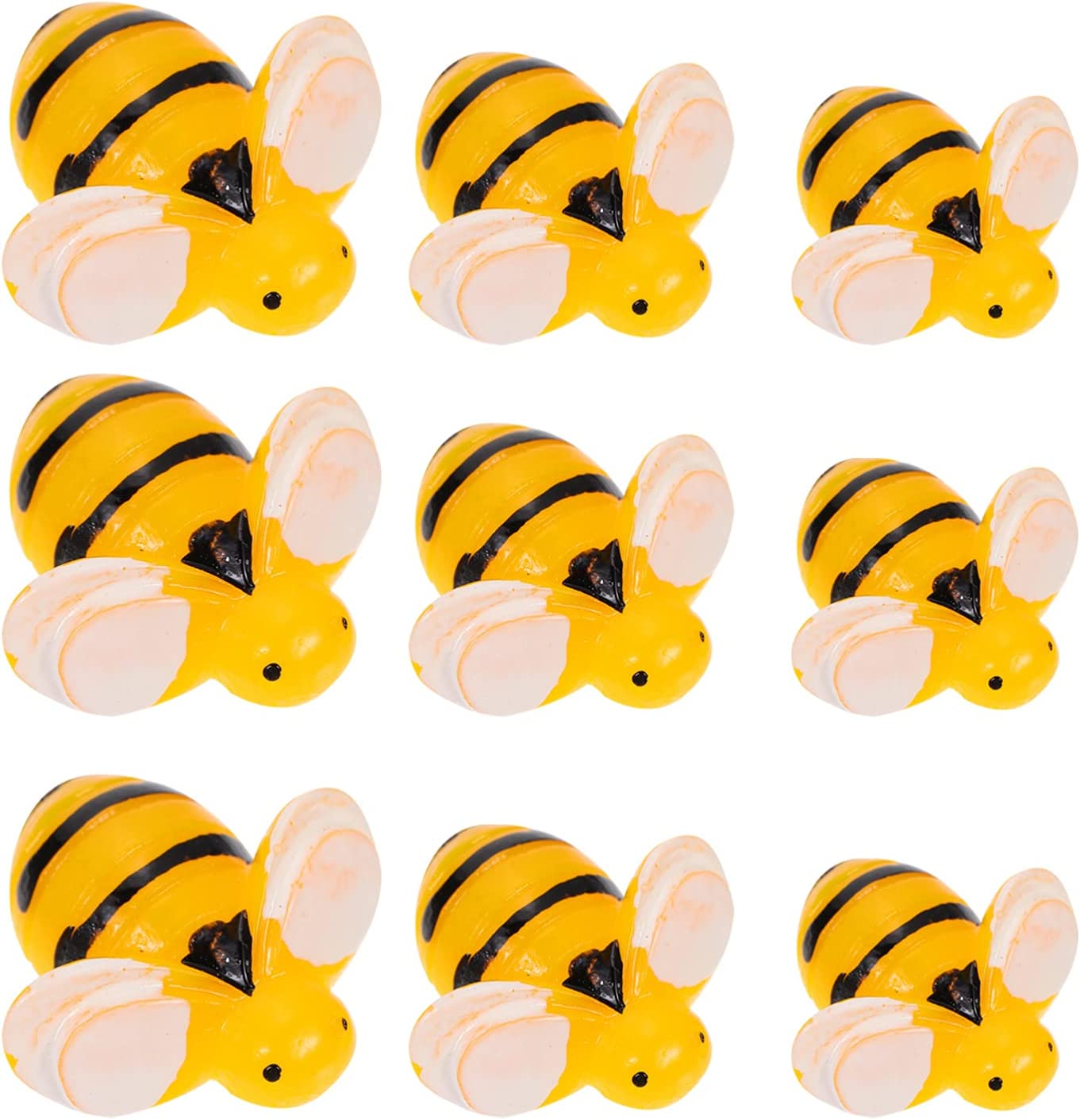 Max 60% OFF BESPORTBLE 30pcs Resin Bee Tiny Embellishments Cha Al sold out. Flatbacks