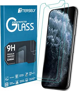 TERSELY [2 Pack] Screen Protector for iPhone 11 / XR, 9H Hardness Case Friendly Tempered Glass Screen Protectors Anti-Scra...