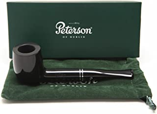 Peterson Killarney Ebony 106 Tobacco Pipe Fishtail