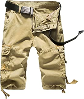 Nidicus Mens Military Relaxed Straight Twill Cargo Pant Multi Pockets