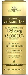 Solgar Liquid Vita D3 - Vitamina. liquído. 59 ml. 5000 IU