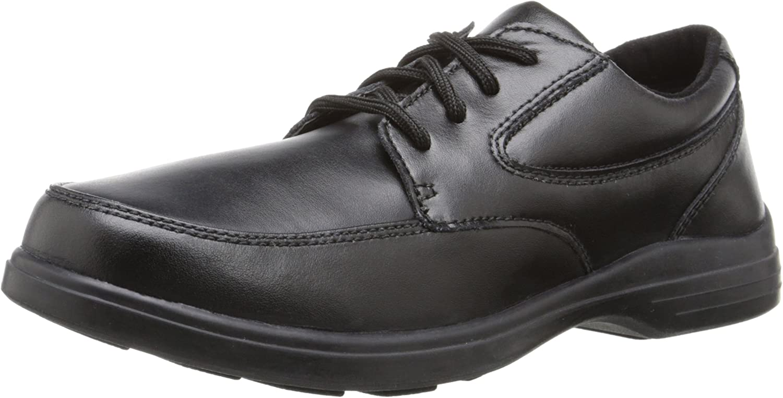 Hush Puppies Boy's TY Dress Shoe, Black, 3 Big Kid
