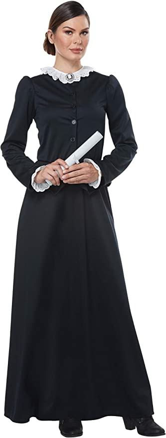 Victorian Costumes: Dresses, Saloon Girls, Southern Belle, Witch Womens Harriet Tubman Costume  AT vintagedancer.com