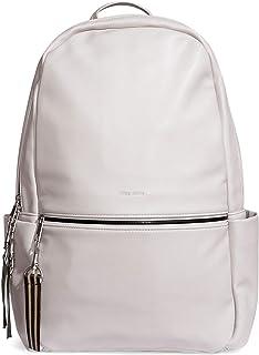 Pixie Mood Leila 17 x 12.5 Vegan Leather Convertible Backpack, Cloud