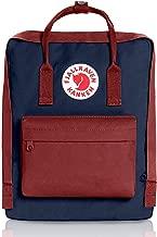 Fjallravens- Kanken Classic backpacks for Everyday,Outdoor Bags,Sweden Laptop,Greenland Zip wallet,Raven,Re-Kanken ,mini,Raven (Royal Blue/Ox Red)