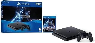 PlayStation 4 Slim 1TB Console - Star Wars Battlefront II Bundle [Discontinued] (Renewed)