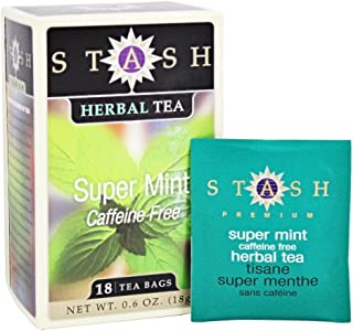 STASH TEA TEA SUPER MINT 18BG