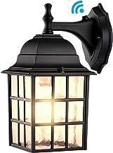 Dusk to Dawn Outdoor Wall Light Fixtures Wall Mount, Sensor Porch Lights, Exterior Wall Sconce Lighting, Anti-Rust Wall La...