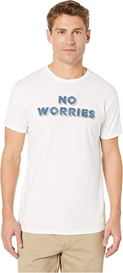 No Worries Vintage Cotton Short Sleeve T-Shirt