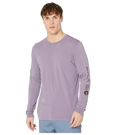 RVCA Anp Long Sleeve T-Shirt (Purple Jade) Men