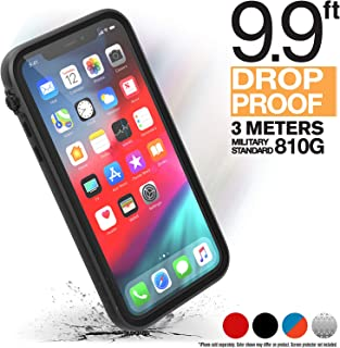Catalyst - Case for iPhone 11 Case with Clear Back, Heavy Duty 10ft Drop Proof, Truss Cushioning System, Rotating Mute Switch Toggle, Compatible with Wireless Charging, Lanyard Included - Black