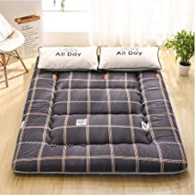 Tatami Mattress Topper,Traditional Japanese Quilting Futon Mattress for Yoga Meditation Living Room Balcony Office Outdoor...