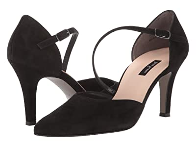 Paul Green Valetta Heel (Black Suede) Women