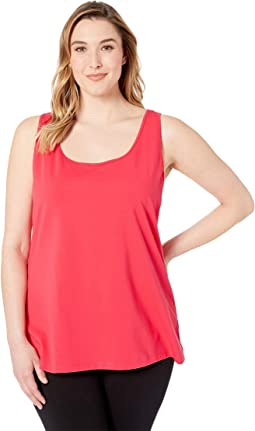 Plus Size Perfect Scoop Tank Top