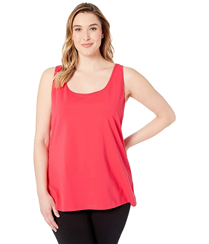 Nic Zoe Plus Size Perfect Scoop Tank Top