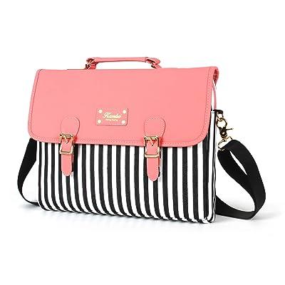 Kamlui Laptop Bag 14 Inch - for Women - PU Leat...