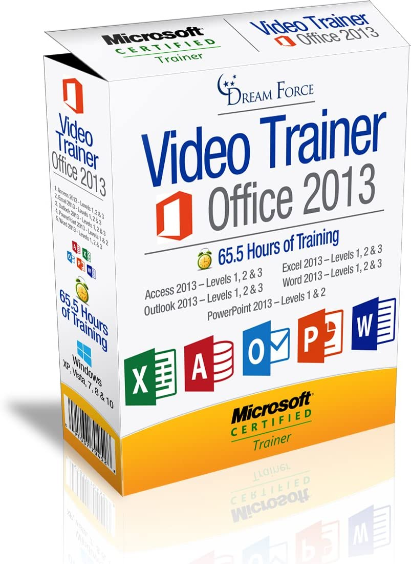 Office 2013 Mail order Training Videos – Hours 65.5 of El Paso Mall tra
