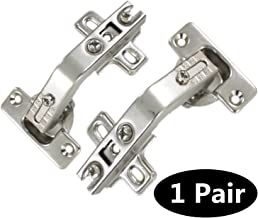 1 pair 135 Degree Special Corner Cabinet/Cupboard Folded/Folden Door Hinges For Combination With Screws
